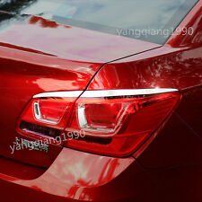 4pcs Rear Tail Light Lamp Cover Trim For Chevrolet Cruze 2009-2015