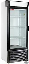 NEW 1 ONE DOOR GLASS SODA DISPLAY COOLER REFRIGERATOR  NEW LED INTERIOR LIGHTING