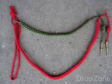 French Military Army Red / Green Fourragère Braided Cord