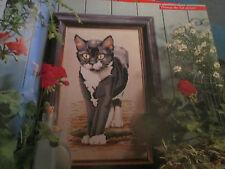 """""""il Gatto's Whiskers'S cross stitch chart (solo)"""