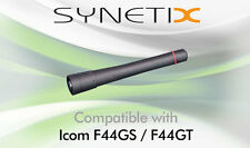 ICOM UHF STUBBY ANTENNA FOR IC-F44GS F44GT TWO WAY RADIO - BY SYNETIX
