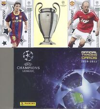 Panini 2010-11 Champions League trading card set 104 card include box Messi Kaka