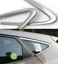 Chrome C Pillar Window Molding (Fit: Hyundai Tucson ix35 2011 2012 2013 2014)