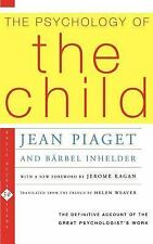 The Psychology of the Child by Barbel Inhelder and Jean Piaget (1972, Paperback)