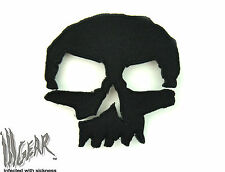ill Gear MONSTER Tactical Black Skull  Patch Apocalypse Survival Zombie