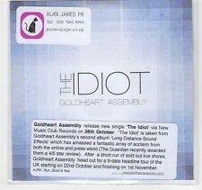 (EC170) The Idiot, Goldheart Assembly - DJ CD
