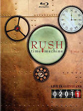 Rush: Time Machine 2011 Live In Clevelan  Blu-Ray NEW