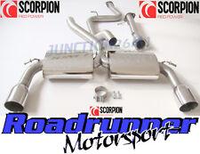 Scorpion focus st système d'échappement st 225 de-cat & cat back non res louder