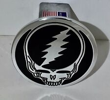 hitch cover, Steal Your Face, DEAD head ,expedition,chevy,H2,FORD