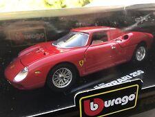 1:18 Bburago Burago Red 1965 Ferrari 250 Le Mans #3033