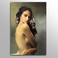 Modern Canvas Wall Art Print Nude Woman Painting Home Decor Picture Unframed