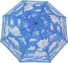 Artbrollies New Clouds Manual Open Close Folding Umbrella Compact Sky Art Brolly