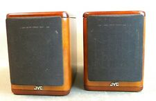 JVC (Model SP-UX7000) Set of 2 Cherry Wood Speaker System  (LF)