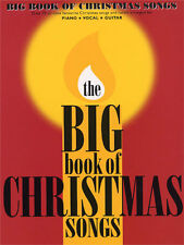 The Big Book Of Christmas Songs Learn to Play Piano Vocal & Guitar Music Book