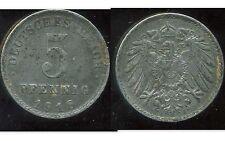 ALLEMAGNE 5 pfennig 1918 A  ( bis )