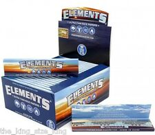 ELEMENT KINGSIZE ULTRA THIN RICE ROLLING PAPER FULL BOX OF 50 PAPERS