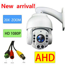 "CCTV Security 4"" Speed Dome 2.0MP AHD PTZ Camera 1080P 20X ZOOM Auto Focus"