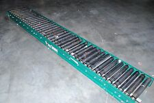 "Alvey Powered Roller Conveyor Section, 16"" W x 120"" (10') L (K58)"