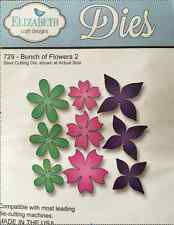 Elizabeth Craft Steel Cutting Die BUNCH OF FLOWERS #2 ECDD729