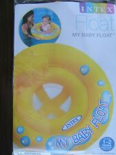 "BABY FLOAT 26-1/2"" Intex wet set Child's SWIMMING POOL SEAT INTEX #59574EP NEW"