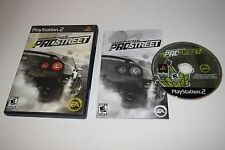 +++ NEED FOR SPEED PRO STREET Sony Playstation 2 PS2 Game COMPLETE TESTED