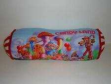 "Candy Land Board Game STUFFED PLUSH PILLOW 18"" Long Peppermint Bed Bedding"