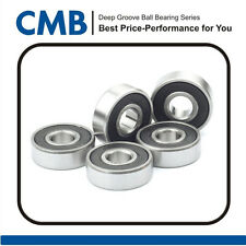 5pcs 625-2RS C3 Miniature Bearing Double Rubber Sealed Ball Bearing 5 x 16 x 5mm