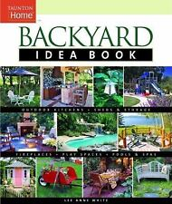 Backyard Idea Book: Outdoor Kitchens, Sheds & Storage, Fireplaces, Play Spaces,
