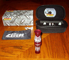 FRED ZINK CALL OF DEATH COD GOOSE CALL+CASE+BAND+DVD+REEDS CRANBERRY CRUSH NEW!