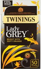 Twinings Lady Grey Bright Tea with Zesty Orange (4x50 Bags)