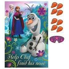 Disney's FROZEN Party Game Party Favors Party Supplies featuring Olaf