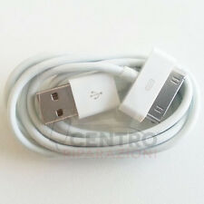CAVO DATI USB PER IPHONE 4 4S 3GS IPAD 2 3 4 CARICA SYNC IPOD TOUCH RICARICA OEM
