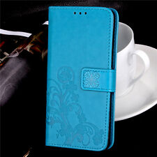 Fashion Flip Patterned PU Leather Card Pocket Wallet Kickstand Case Cover SYC2