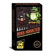 Boss Monster Dungeon Building Board Game Villian Brotherwise Games 8 Bit Pixel