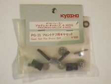 PG-55 Gear Set for Front Diff - Kyosho Progress 4WDS Gallop 4WDS