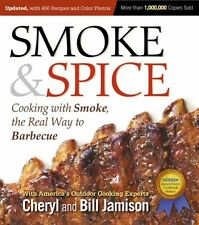 SMOKE & SPICE Cooking With Smoke Barbecue Smoker Smoked Meat Book Brisket Pork &