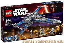 LEGO® Star Wars™: 75149 Resistance X-Wing Fighter™ & 0.-€ Versand & OVP & NEU !