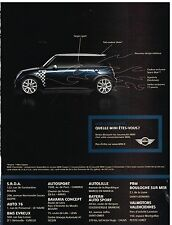 Publicité Advertising 2005 Mini Cooper
