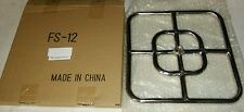 Stainless Steel Fire Pit Square Burner, 12 Inch x 12 Inch, SS #304. VERY CHEAP!!