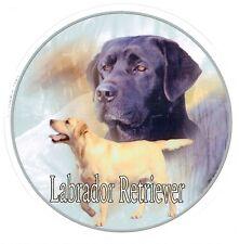 Design Aufkleber Labrador Retriever Retriver 3 schwarz 15 cm Autoaufkleber
