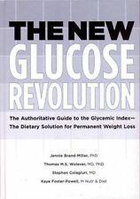 The New Glucose Revolution by Dr Jennie Brand-Miller (Hardback, 2005)