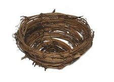 "Artificial Twig Nest 12 Fake Craft Floral Wedding Christms Twig Nests 2 14"" New"