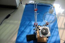 Lab Essential oil steam glass distillation distilling apparatus  kit
