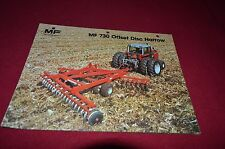 Massey Ferguson 730 Offset Disc Harrow Dealer's Brochure DCPA