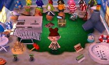 Animal Crossing New Leaf Nintendo 3DS All 70 Island items + 1 Million Bells