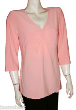 JB M 40 / 42 klasse Stretch Shirt im Empirestil Rosa NEU ANGEBOT