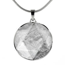 Meteorite Jewelry - Star of David Meteorite Pendant 37mm (gives necklace chain)