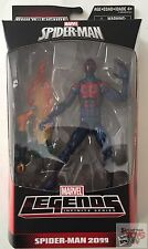 "SPIDER MAN 2099 +BAF The Amazing SPIDER MAN Marvel Legends 2016 6"" INCH FIGURE"
