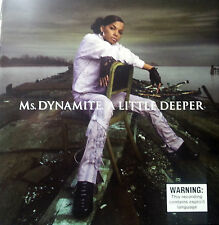 Ms DYNAMITE CD A LITTLE DEEPER FREE POST IN AUSTRALIA