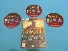 ROME II Total War   game for PC DVD-ROM * used - for collectors only